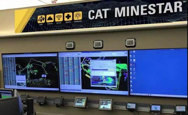 Caterpillar虚拟矿场,用来做什么?